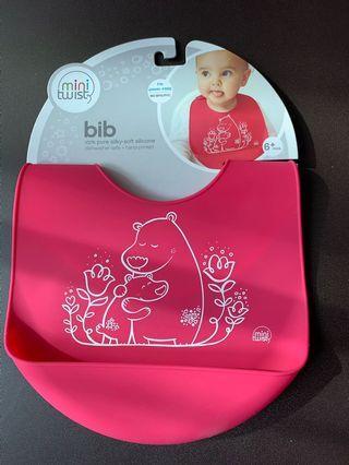 🚚 Baby Basket Silicone Bib