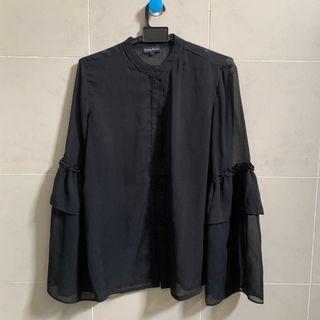 SOMETHING BORROWED see through shirt