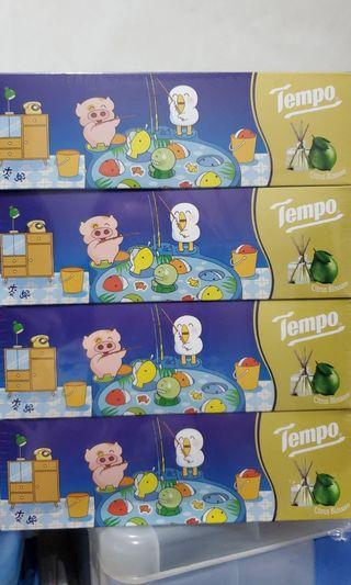 Tempo盒裝紙巾香薰果味(4盒一pack)