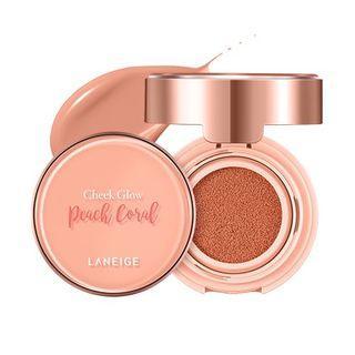 (全新. Peach Coral 🍑 ) Laneige Cheek Glow 透亮貼服氣墊胭脂