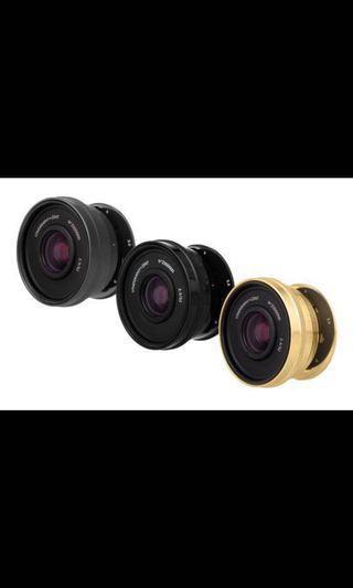 Lomogon 32mm f2.5 Lens