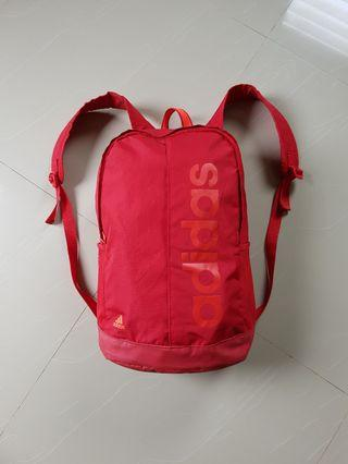 Adidas Red Linear backpack