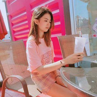 (PO) 2 Colours - Pastel Coloured Skirt