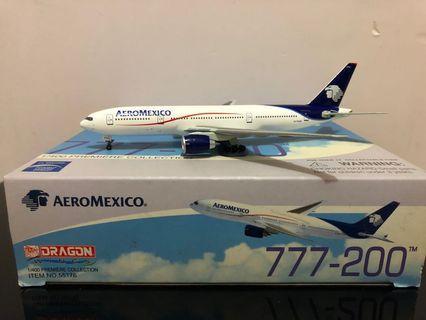 飛機模型 - AeroMexico 墨西哥航空 1:400 B777