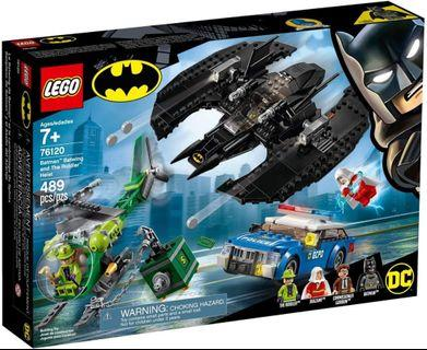 Lego Batman 80th 76120 Batwing and The Riddler 蝙蝠俠 同系列 76118 76119 76122 76126 76134 76131 76105