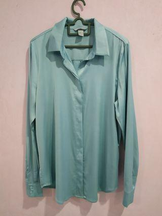 H&M Turquoise Blouse