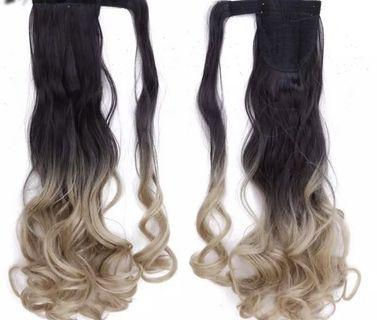 hair extensions (ponytail)