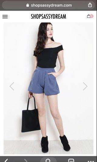 SSD Ash Blue Tayler shorts
