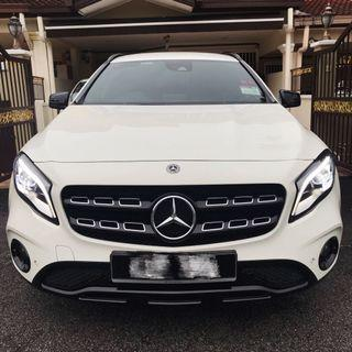 GLA 200 Facelift (Very low mileage)