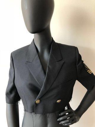 YSL Cropped Blazer - Size 38