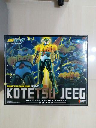 新 磁鋼合金 MSG -01 Kotetsu Jueeg Action Toys 金鋼飛天鑽