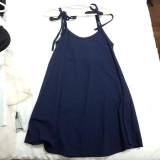Navy Dress (to be worn with a tshirt inside)