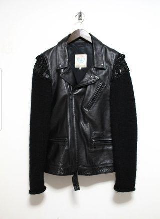 Undercover FW09 Ethnic Rider Leather Jacket