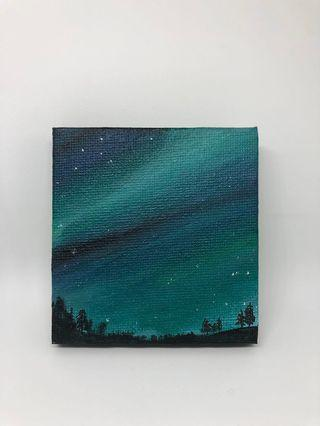 Hand painted Mini Acrylic On Canvas