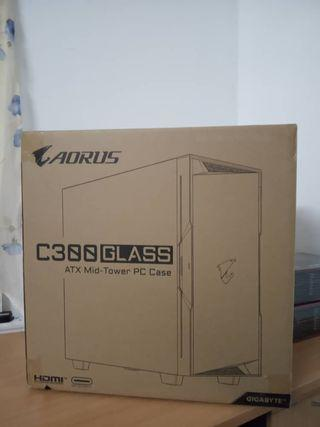 Aorus C300 Glass case