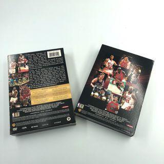 🚚 [絕版品] 二手 原價1200 公牛王朝 DVD 4片裝 喬登 喬丹 Jordan 保存完整 值得收藏