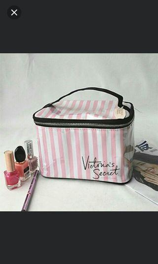 (NO INSTOCKS!) Preorder Authentic victoria secret cosmetic make up pouch/box * waiting time 15days after payment is made *pm if int