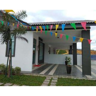 RM500 Single Storey Terrace House w Exclusive Clubhouse