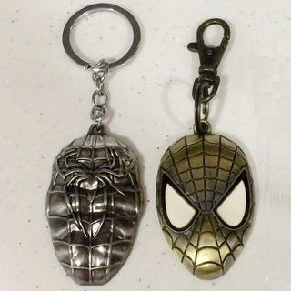 Super Deal! MARVEL Spider-Man Metallic Keychains (Set of 2)
