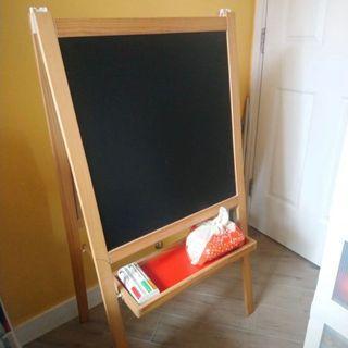 IKEA 畫架 黑板白板