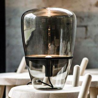 Nordic Style Balloon Shape Glass Table Lamp, 北歐時尚氣球型晶瑩玻璃枱燈