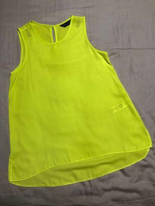 🚚 Dorothy Perkins lime green top