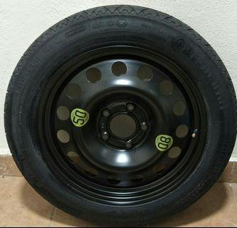 Bmw Spare Tire with full set tools
