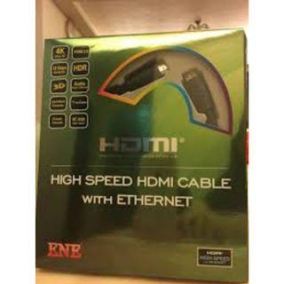 ENE 4k high speed hdmi cable with ethernet brand new!!!