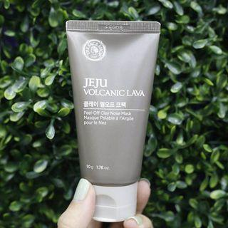 Jeju Volcanic Lava Peel Off Clay Nose Mask 50g