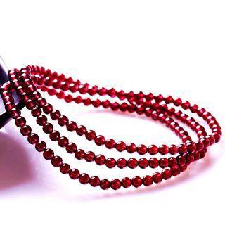 🚚 Grade 6A Garnet 3.8mm Bracelet