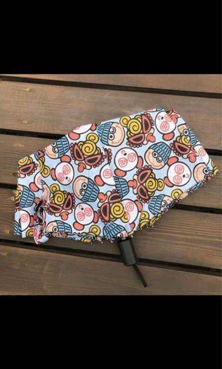 超黑奶嘴雨傘