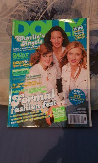 Dolly Magazine. Charlie's Angels