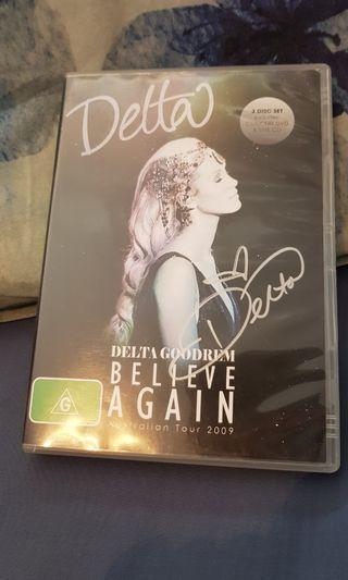 Delta Goodrem Autographed DVD/CD