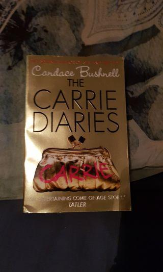 Carrie Diaries Book