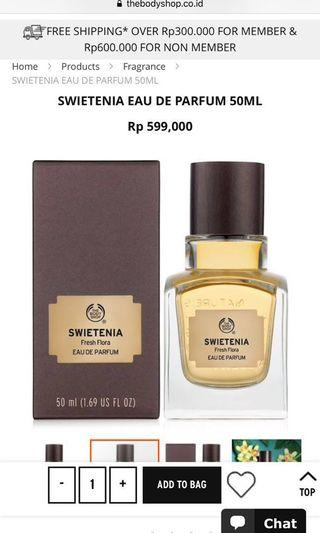 The Body Shop Swietenia Fresh Flora EDP