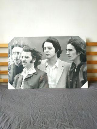 The Beatles Canvas Poster