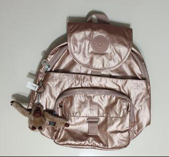 Kipling Backpack queenie in rose metallic