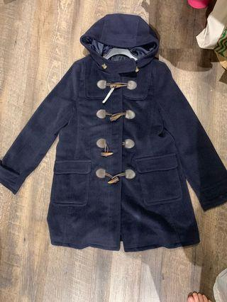 🚚 Dark Blue Winter Coat