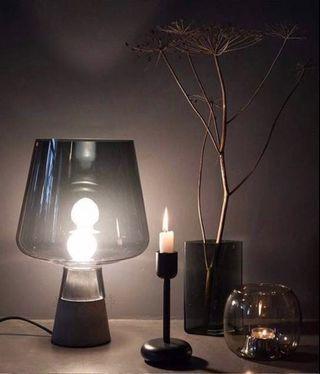 Nordic Trendy Crystal Glass Table Lamp, 北歐時尚水晶玻璃枱燈