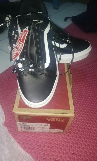 Vans Old Skool (otw Webbing) Black Leather