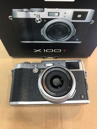 Fujifilm X100T (Silver)