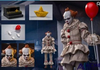 [INSTOCK] ACME TOYS 1/6 FIGURES PENNYWISE IT CLOWN [LAST]