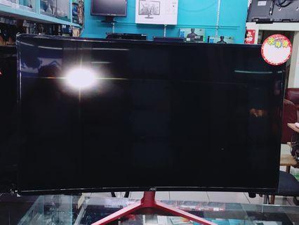 AOC 39吋 曲面螢幕
