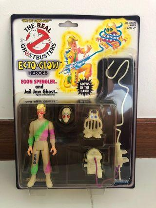 🚚 Kenner The Real Ghostbusters ECTO GLOW Egon Spengler Vintage 1986