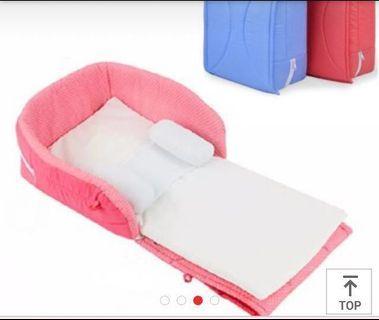 Portable baby cot