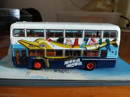 1:76城巴巴士模型 - 香洋公園城巴專綫