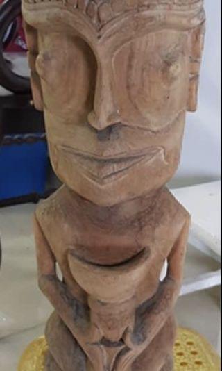 Antique Dayak Wood Carving
