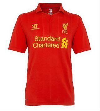 WARRIOR LIVERPOOL FC 12-13 HOME JERSEY