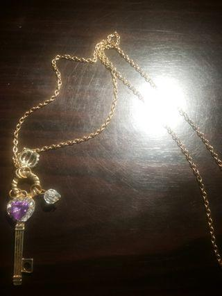 Vintage playing necklace