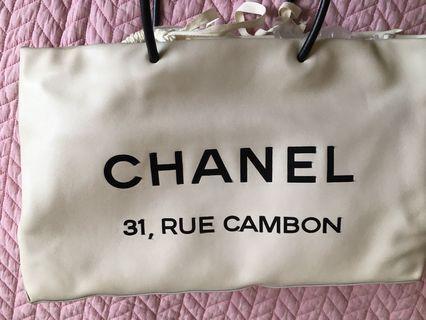 Chanel tote bag 2009ss vintage 有卡